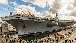 The U.S. Navy's Oldest Aircraft Carrier May Get A New Lease On Life
