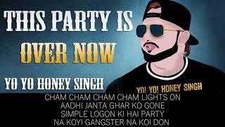 YoYo Honey Singh - This Party is Over Now (LYRICS VIDEO)