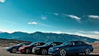 Topless Drag Race! Audi vs BMW vs Infiniti vs Lexus