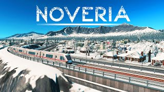 First Metro Lines & Why Layers Of Height Are Important In Cities Skylines!   Noveria