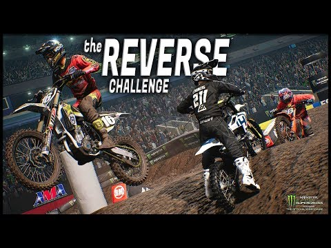The REVERSE CHALLENGE!! (Monster Energy Supercross: The Official Videogame)