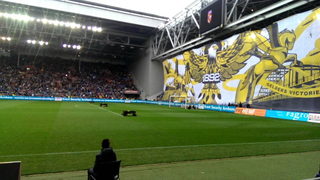 Vitesse - Ajax 6 april 2014 opkomst - YouTube