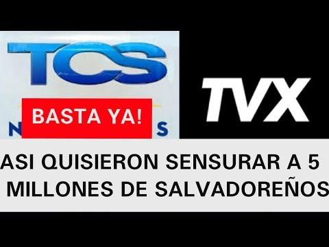 ASI TCS Y TVX PLANEARON DEJAR SIN VOZ A 70 MIL SALVADOREÑOS