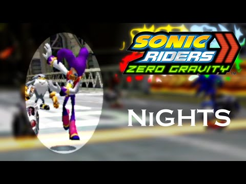 Sonic Riders Zero Gravity WGP - NiGHTS