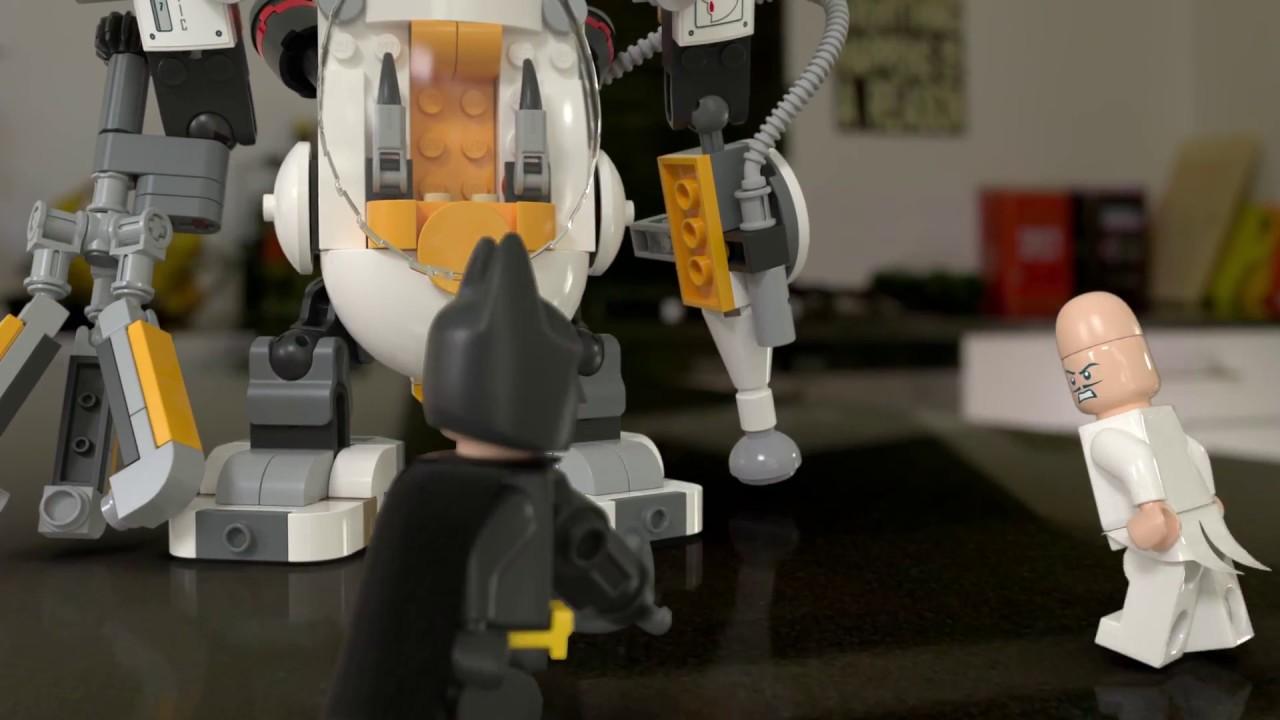 Download LEGO Batman Movie 70920 Borba hranom sa robotom Egghead