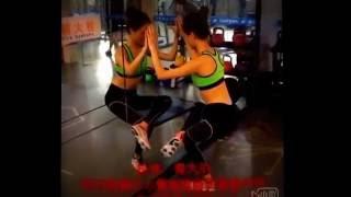 날씬한 다리라인 복부 근력운동 동영상