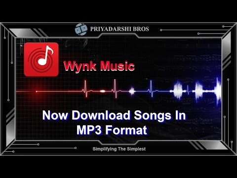 How To Download Songs From Wynk Music (In MP3 Format)