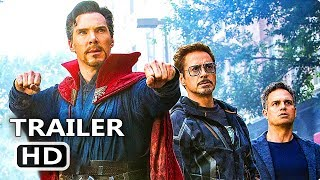 AVENGERS INFINITY WAR Trailer # 2 Teaser (2018) Marvel Superhero Movie HD