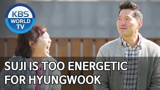 Suji is too energetic for Hyungwook [Dogs are incredible/ENG/2020.04.07]