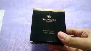 ORIFLAME ONE BRAND TUTORIAL || REVIEW GIORDANI GOLD BRONZING PEARLS GOLDEN EDITION