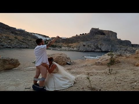 'Married In Style' British Bride Appears To Perform Sex Act On Husband In Cheeky Wedding Photo