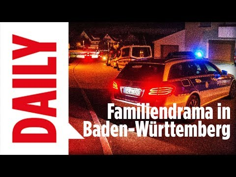 Familiendrama in Baden-Württemberg - BILD Daily live 15.09.17