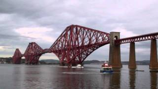 Forth Railway Bridge Firth Of Forth Scotland October 23rd