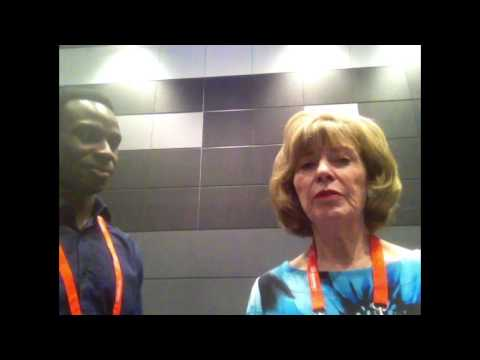 3 Questions with World Confederation of Physical Therapy Conference President Dr. Marilyn Moffat.