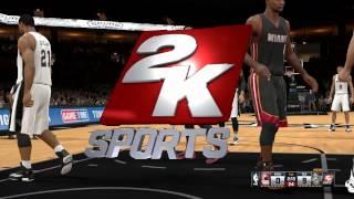 NBA 2K15 PC Gameplay on HD 6850 , 8 gb DDR3