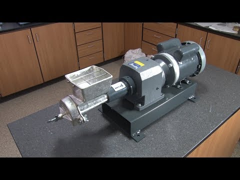 Grinding / Milling: Gilson Motorized Disk Mill (LC-82F)