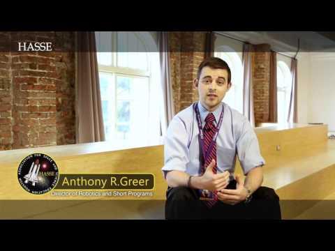 USSRC Robotic Program Anthony 對HASSE學員的鼓勵