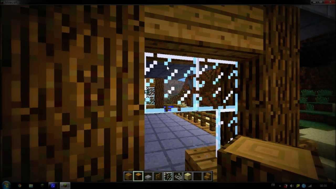 Comment cr er une belle petite maison minecraft youtube for Comment faire une petite maison minecraft