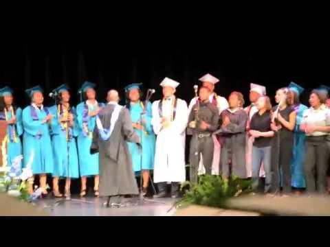 Northampton County High School's 1st graduation