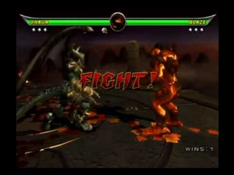 Mortal Kombat Armageddon - Onaga - 2/2 - YouTube