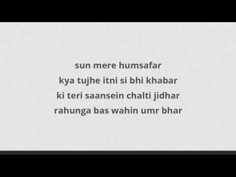 Sun mere humsafar Lyrics(Badrinath Ki Dulhania)Akhil Sachdeva