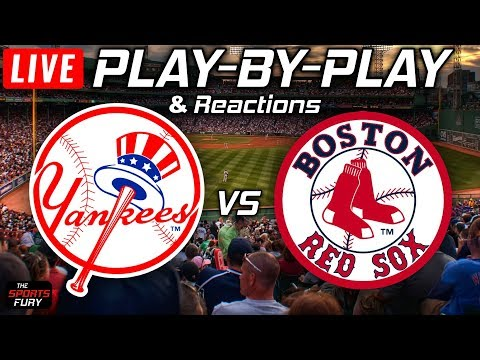 Yankees Vs Red Sox | Live Play-By-Play & Reactions