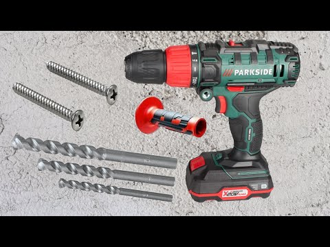 Parkside cordless impact drill psbsa 20 li a1 unboxing for Smerigliatrice angolare parkside