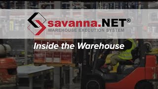 Savanna.NET® WES- Inside the warehouse