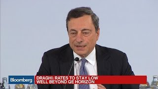 Mario Draghi: Negative Rates Are the Right Policy to Restore Economy