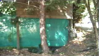 Siddeburen op camping Domaine de Gil in Aubenas (Ardeche) part 4