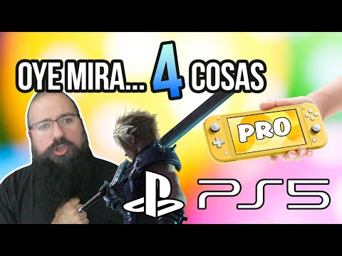 Oye mira 4 cosas - Logo PS5, Demo FF VII Remake Filtrada, Rumor nueva Switch