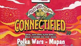 Polka Wars - Mapan live at Connectified Tour 2018 (Bandung)