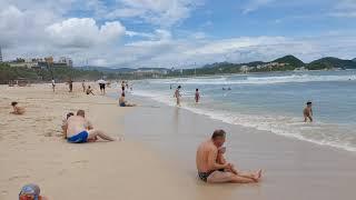 Пляж Дадунхай сегодня, остров Хайнань, Китай