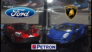 Petron Toy Car 2018 Ford GT VS Lamborghini Aventador S