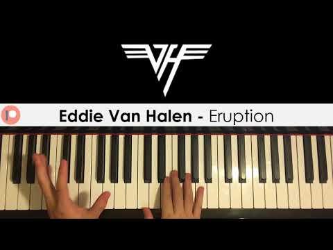 Eddie Van Halen - Eruption (Piano Cover) | Patreon Dedication #199