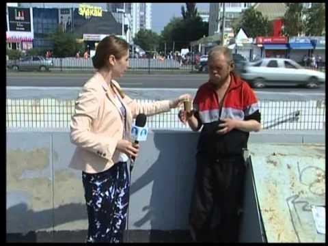 Улицы Челнов переполнены бомжами
