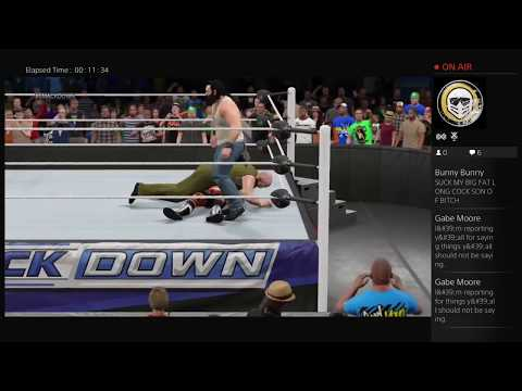 WWE 2K15 MY UNIVERSE MODE-GOOD QUALITY SMACKDOWN MATCHES