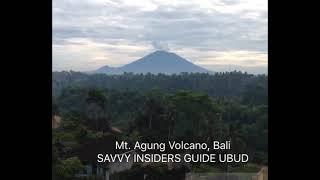 Mount Agung Volcano Begins to Erupt on Bali
