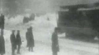 New York City in a Blizzard 1902