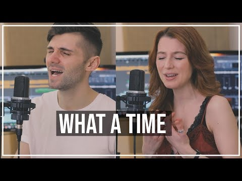 Julia Michaels - What A Time Ft. Niall Horan (Cover By Ben Woodward & Natalie Woodward)