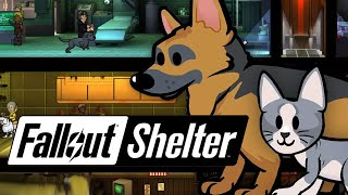 Fallout Shelter - Добавили Животных! (iOS)