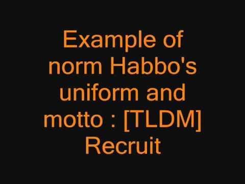 TLDM STANDARD RANKS OF HABBO [be one of us].wmv