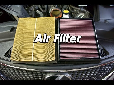 DIY: Lexus ISF K&N Air Filter and Throttle Body Cleaning