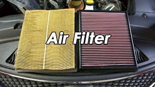DIY: Lexus ISF K&N Air Fil…