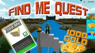 Build A Boat For Treasure - How To QUEST - FIND ME