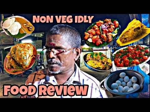 Road side food Review in Madurai ( Indian Food , food review, veg & Non-Veg) by subscribe studios