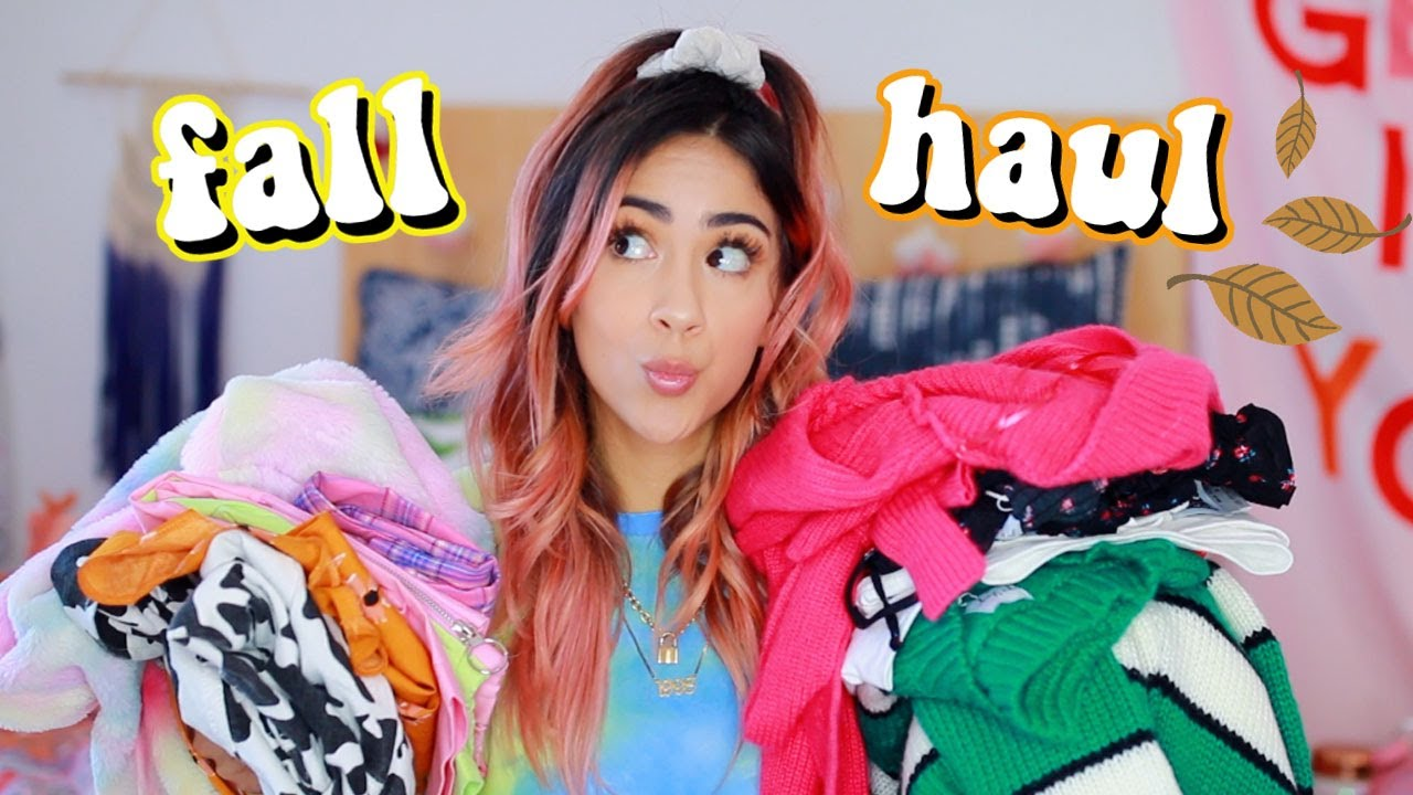 [VIDEO] – huge fall try on clothing haul!