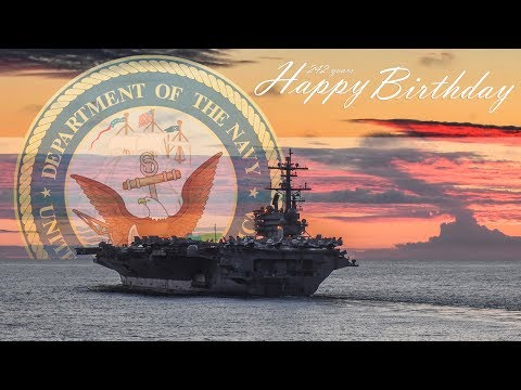 Admiral Howard's 242nd Navy Birthday Message