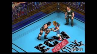 Fire Pro Wrestling Returns - Rhyno vs. Spike Dudley - ECW Hardcore Wrestling | PS2 Gameplay
