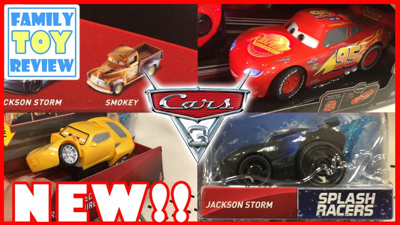 Disney Cars 3 Toys 4 Brand New Toys 2017 Cars Jackson Storm Splash